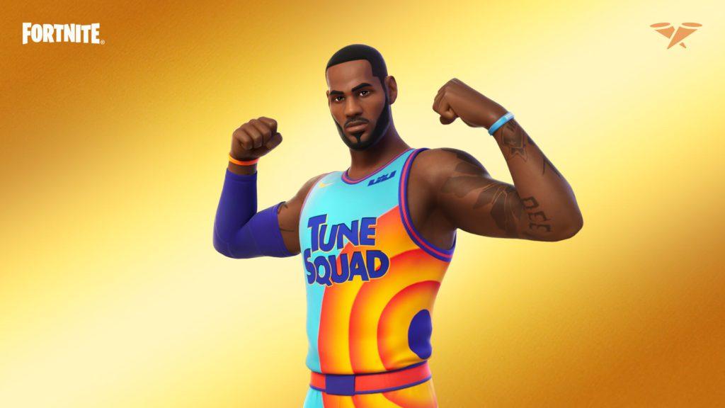 Fortnite LeBron James tuna squad
