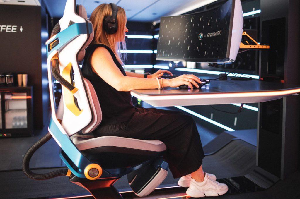 Fotel dla graczy BMW