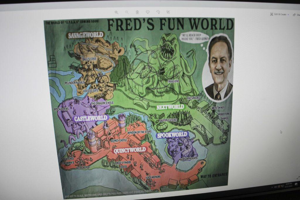 mapa Fred's Fun World w GTA 6