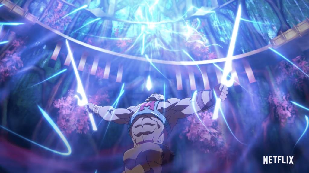 He-Man dwa miecze