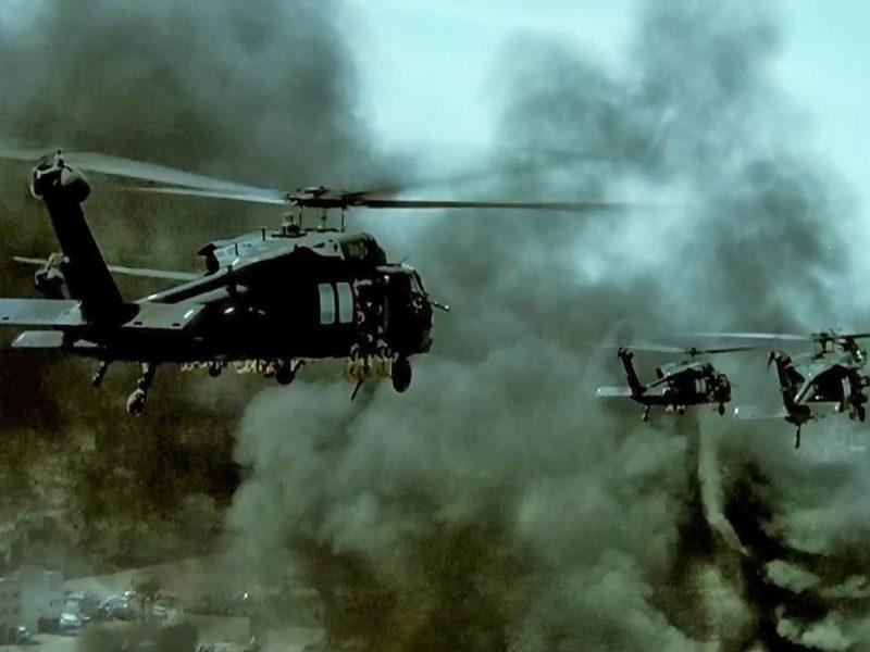 """""""Helikopter w ogniu"""", czyli nigdy nie zostawiamy swoich"""