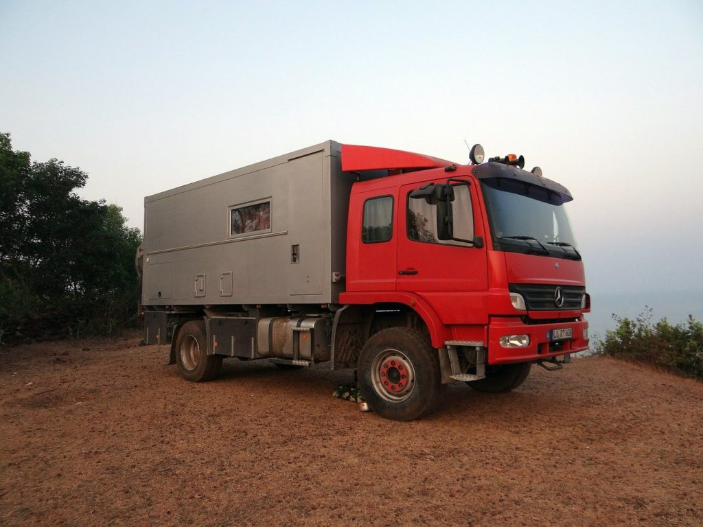 kamper truck
