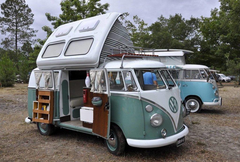 karawaning kamper vw