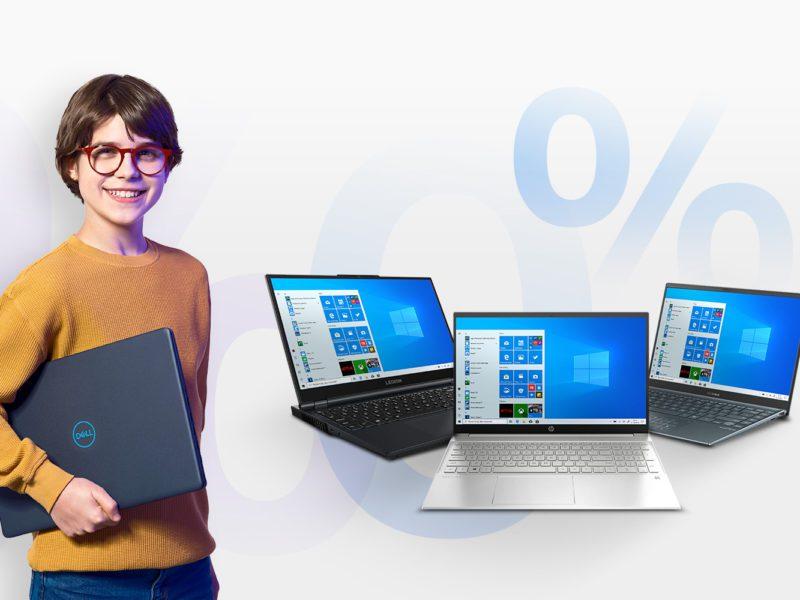 Sezonowi ogórkowemu mówimy nie. Zobacz promocję na laptopy w 20 ratach 0% i odroczoną spłatą o 6 miesięcy