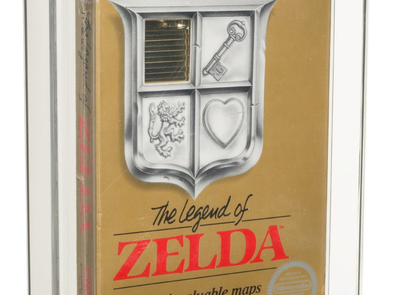 """Rzadki kartridż """"The Legend of Zelda"""" z 1987 roku na aukcji. Cena jest naprawdę bajeczna"""