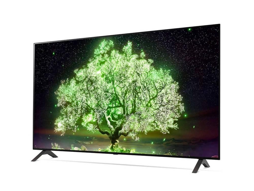wygląd telewizora lg oled55a1