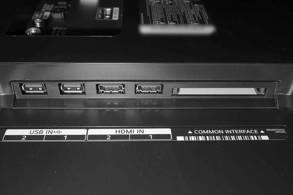 złącza telewizora lg oled55a1