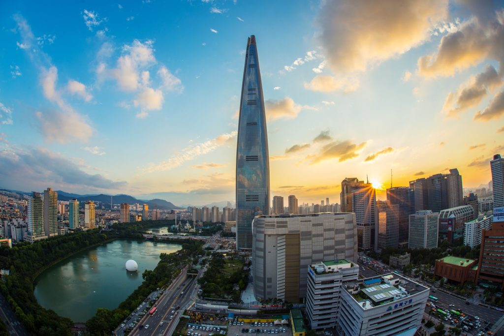 Lotte World Tower Seul inteligentne miasto