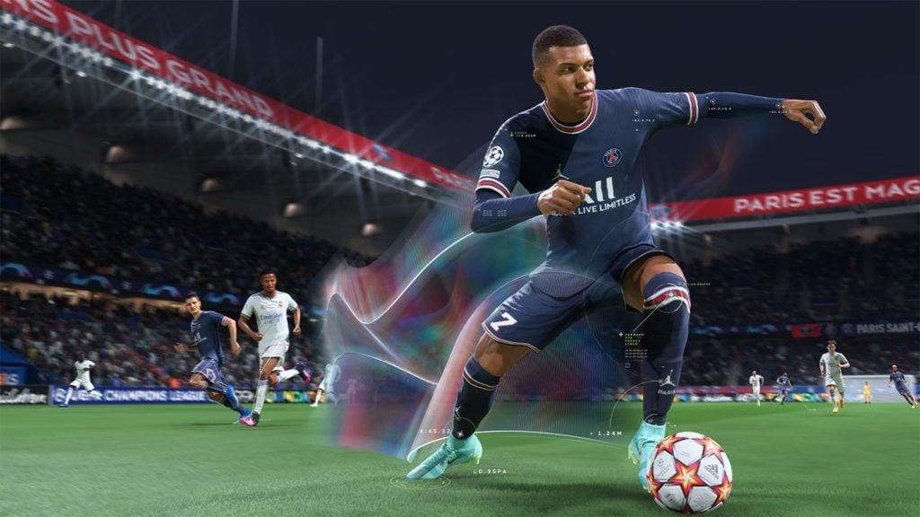 Kylian Mbappe FIFA 22 HyperMotion