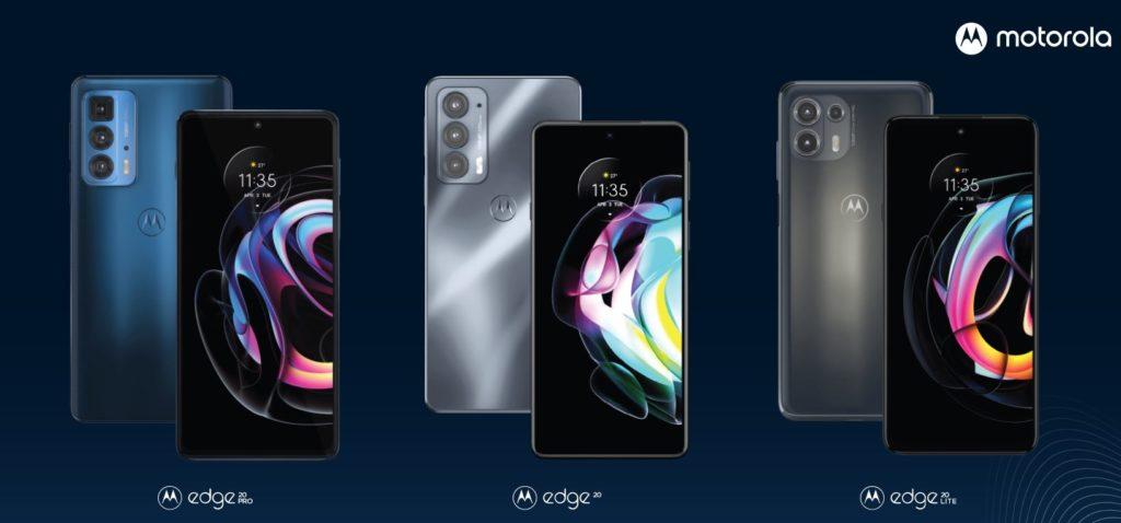 Wszystkie modele Motorola Edge 20