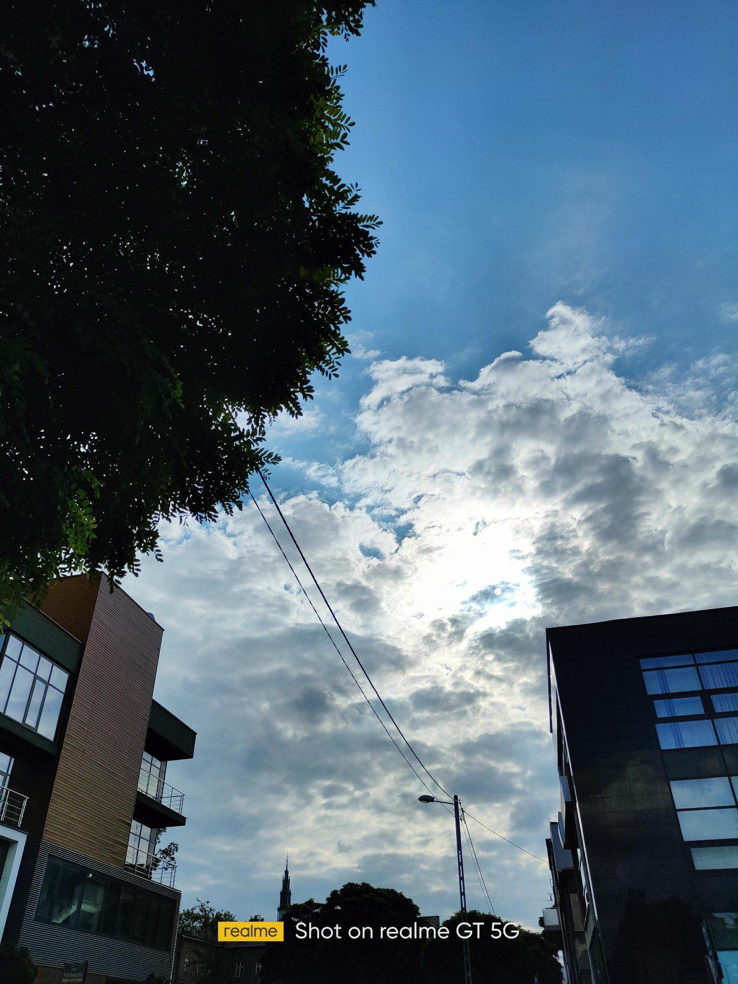 Niebo w HDR