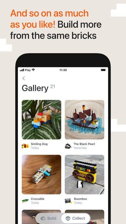 nowe konstrukcje Lego z aplikacją Brickit