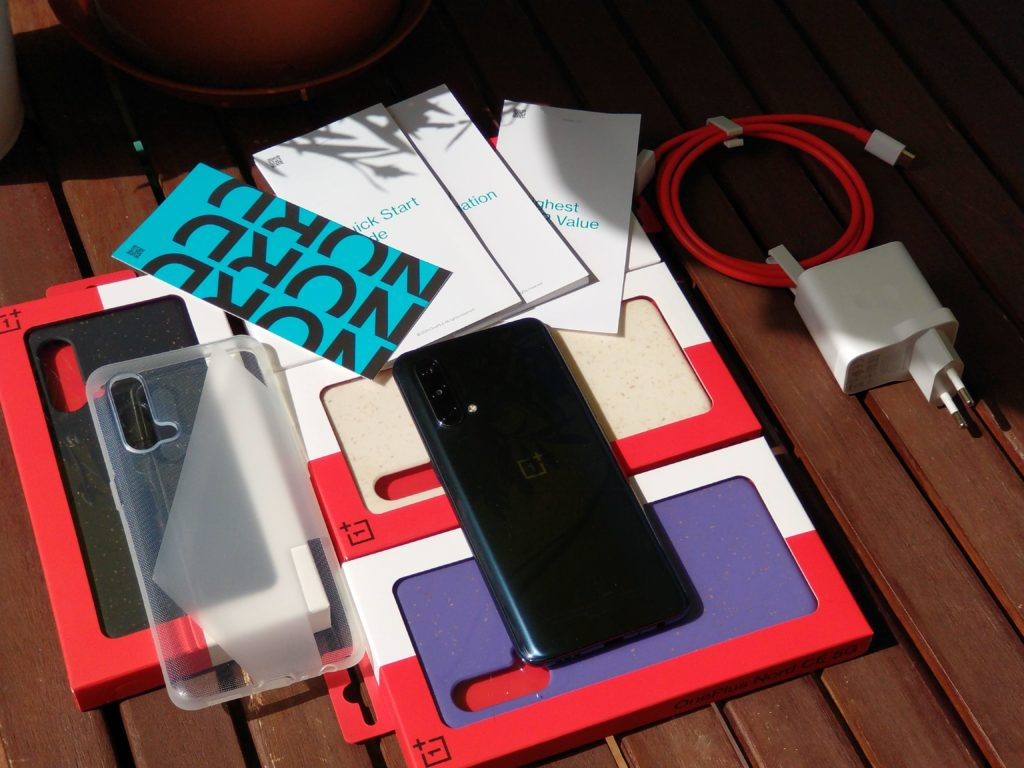 OnePlus Nord CE 5G zawartość pudełka