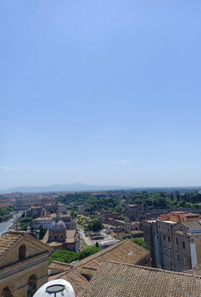 widok na panoramę koloseum w obiektywie głównym realme narzo 30 5G
