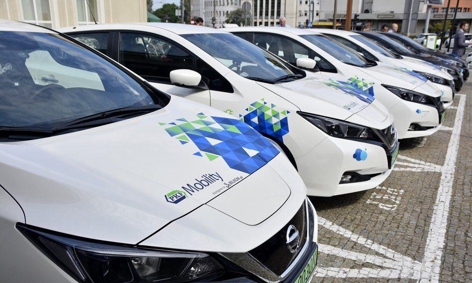 PKP Mobility samochody elektryczne