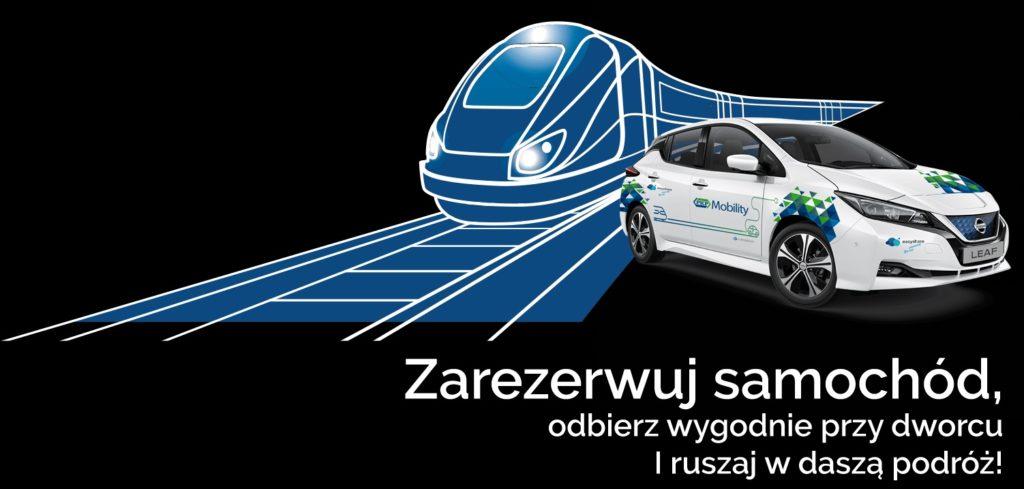 PKP Mobility zarezerwuj samochód
