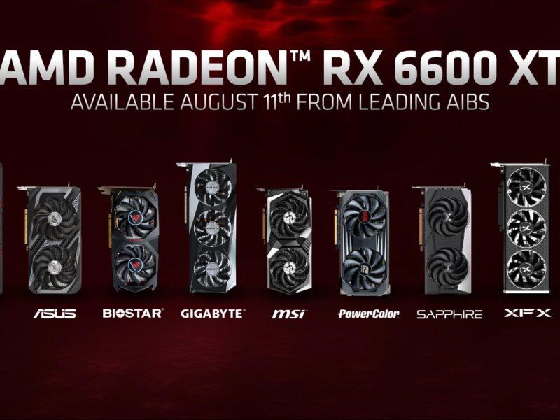 Radeon RX 6600 XT oficjalnie – nadchodzi pogromca GeForce RTX 3060?