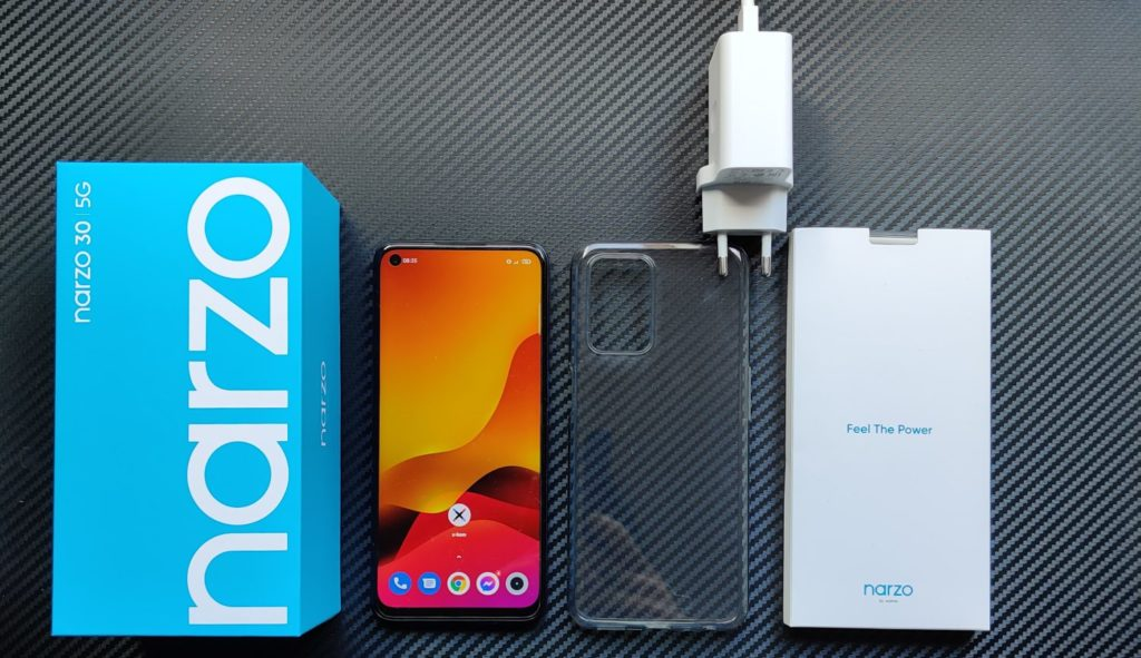 realme narzo 30 5G unboxing