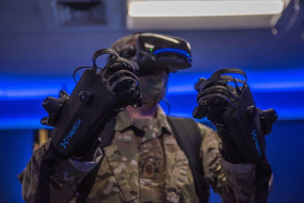 rękawice VR
