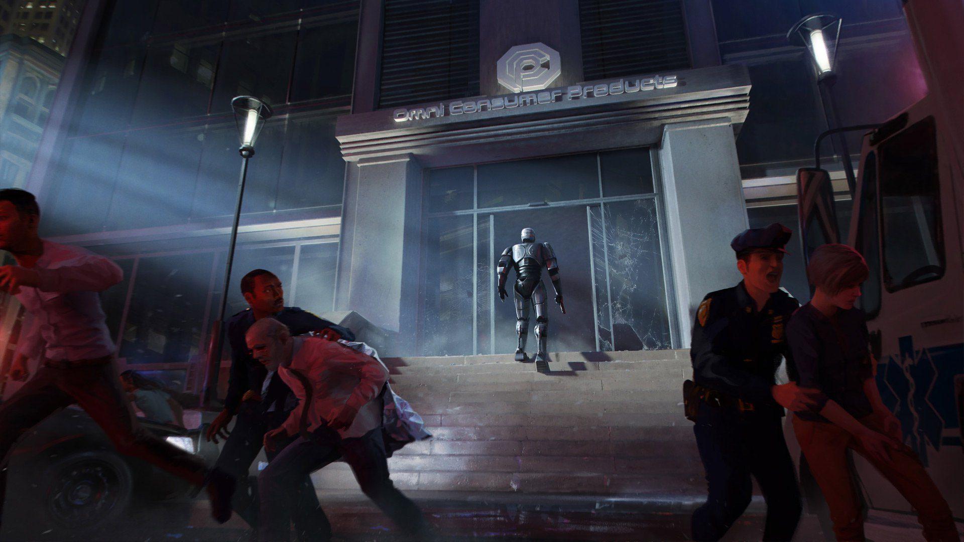 RoboCop Rogue City OCP okładka