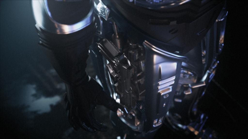 RoboCop Rogue City Robocop sięga po broń