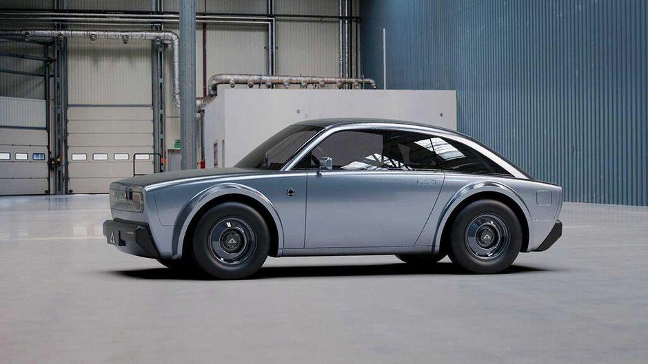 Samochód elektryczny koncept