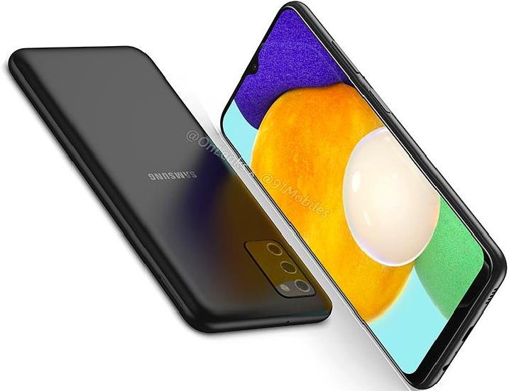 Samsung Galaxy A03s wygląd