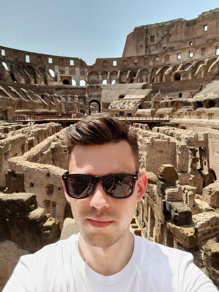 selfie w koloseum realme narzo 30 5G