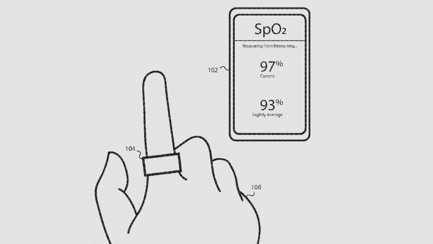 smart ring Fitbit patent