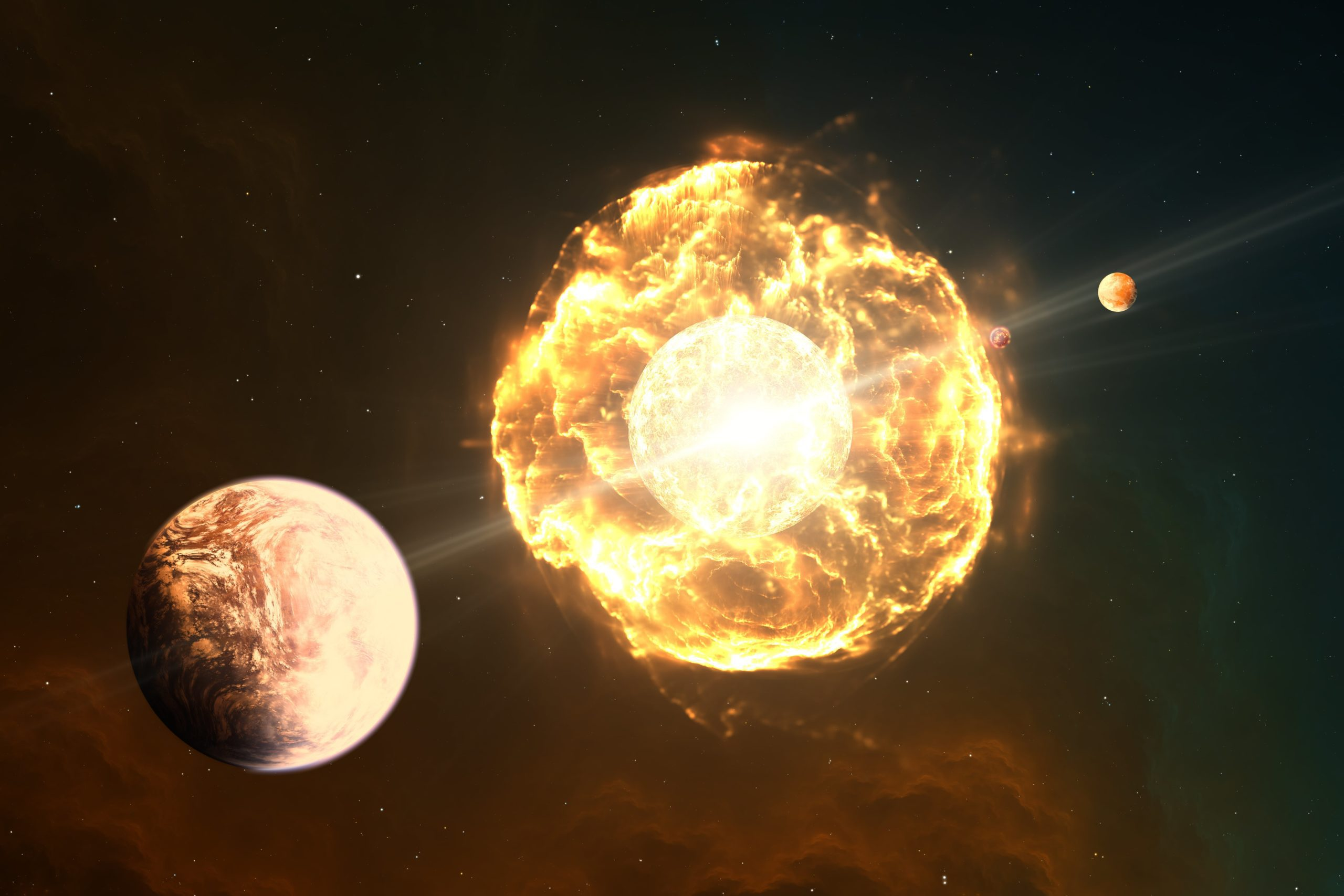 Czy istnieje życie po śmierci… słońca? Naukowcy mówią o szansach na odrodzenie