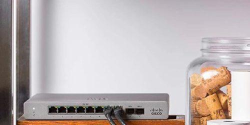 Mała nie znaczy gorsza. Jak zabezpieczyć swoją firmę z urządzeniami Cisco Meraki Go?