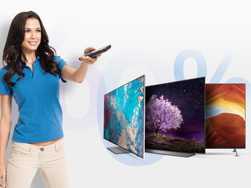 Nadeszła pora na nowy telewizor? W sklepie x-kom kupisz go w ratach 0% i zaczniesz spłacać za 6 miesięcy