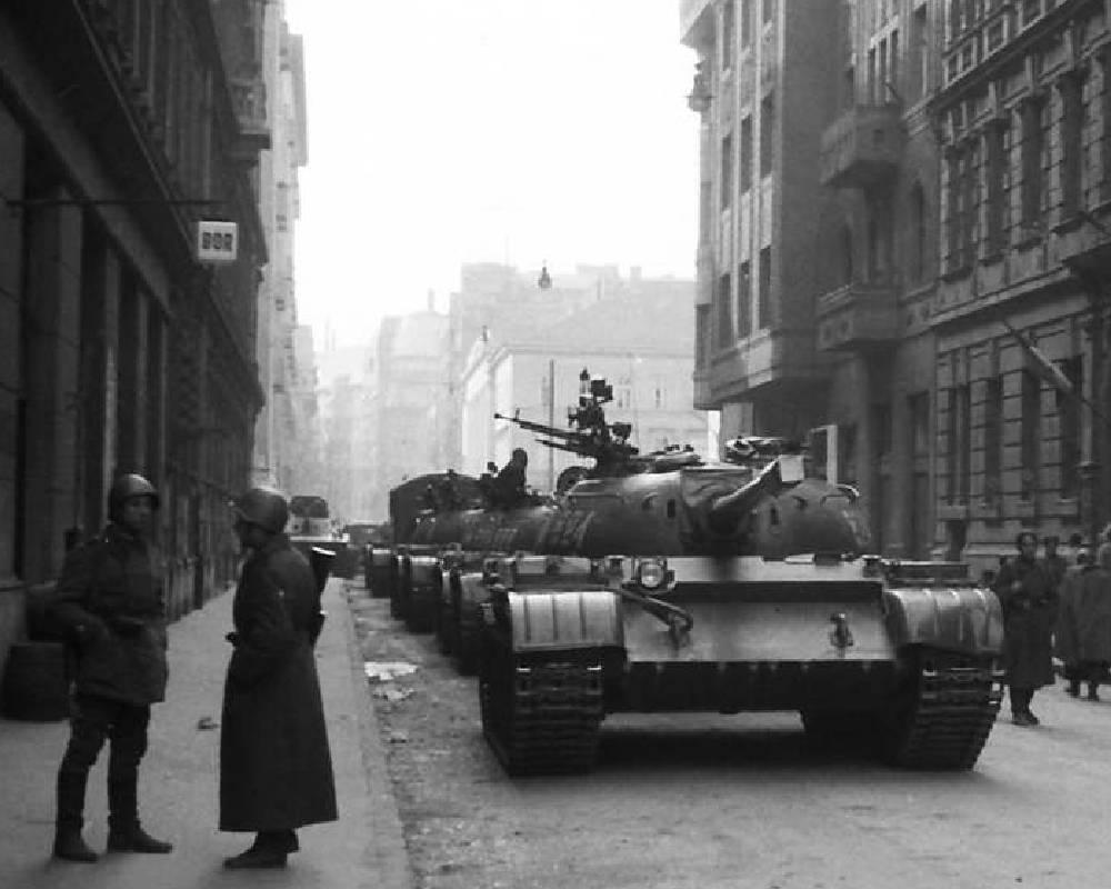 czołgi w Budapeszczie