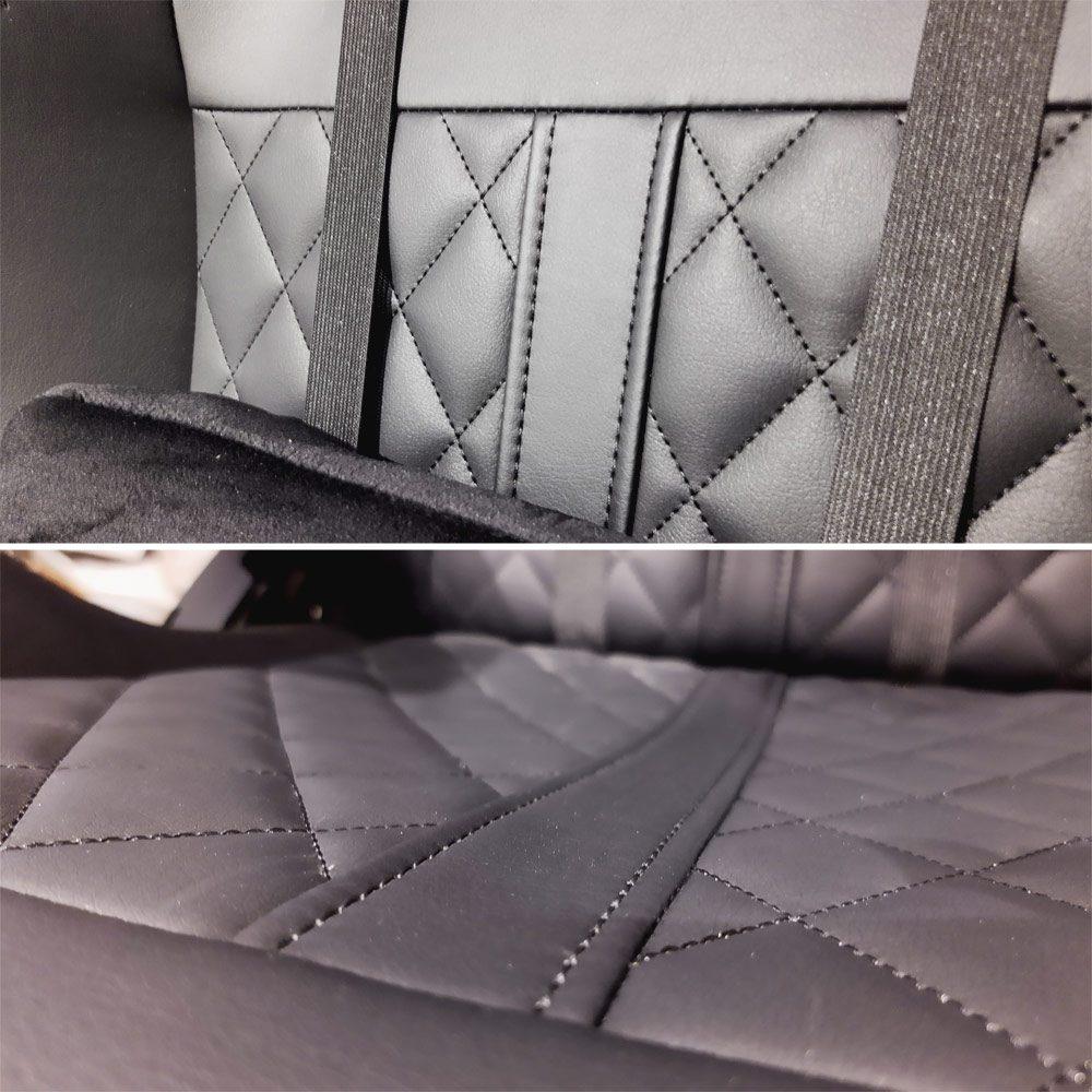 pikowana tapicerka fotela yumisu 2050X