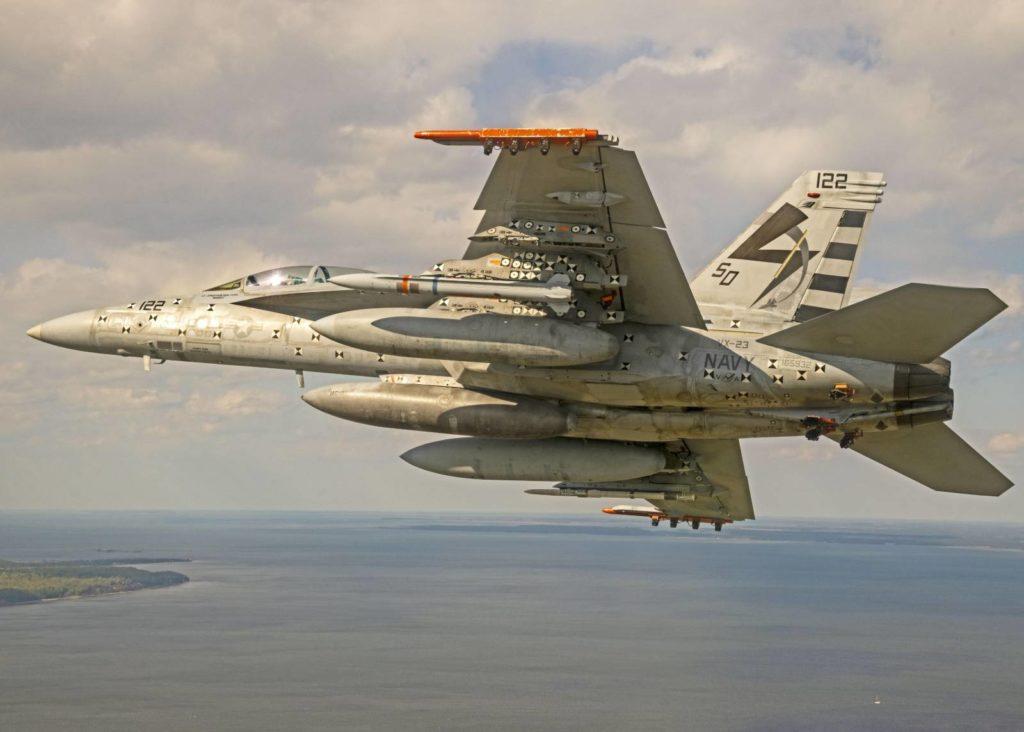 AARGM-ER na samolocie Super Hornet