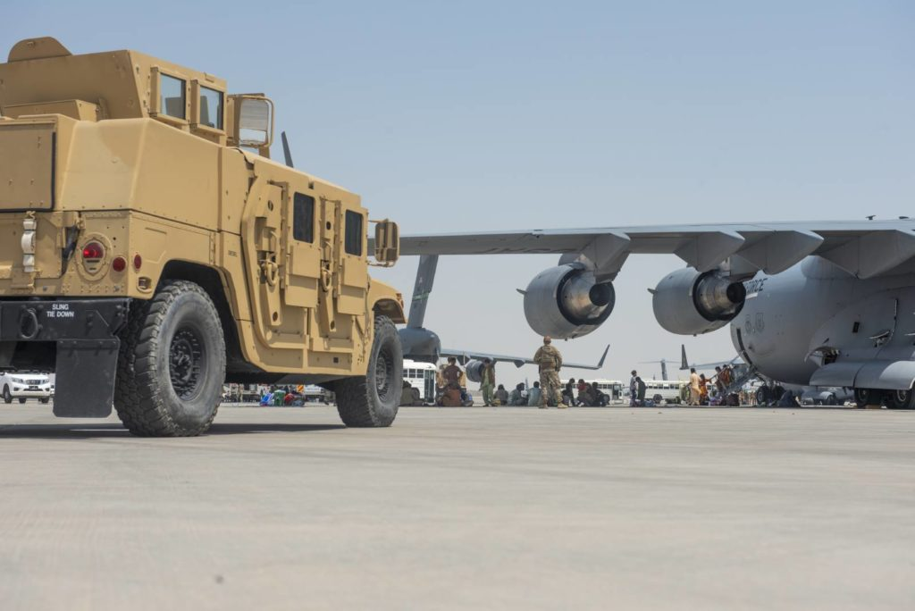 Amerykanie Afganistan sprzęt