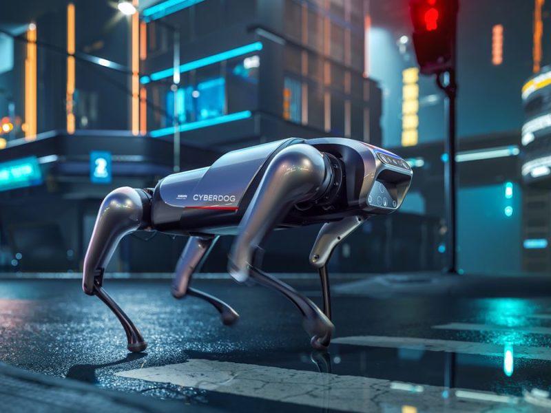 Xiaomi pokazało robota, który jest psem. Wabi się CyberDog