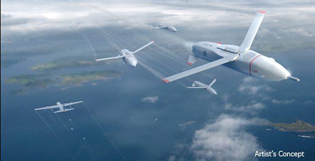 DARPA drony