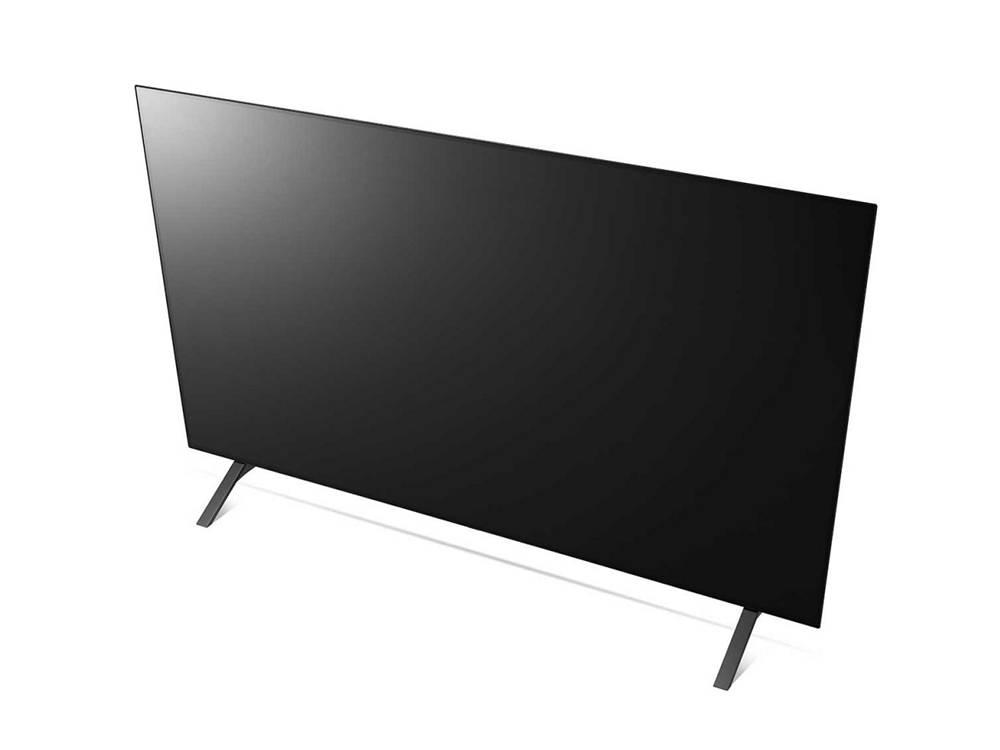 LG OLED48A1 widziany z przodu