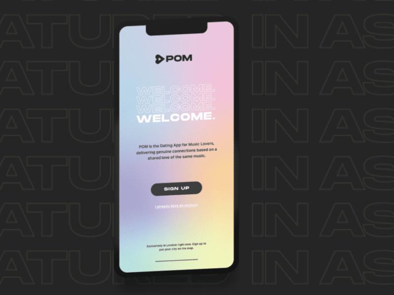 Aplikacja randkowa POM dobiera partnera w oparciu o… gust muzyczny