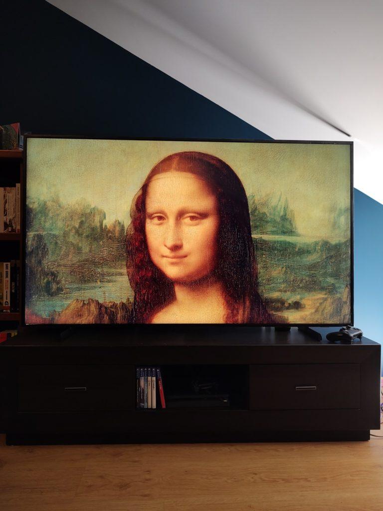 Samsung The Frame obraz Mona Lisa