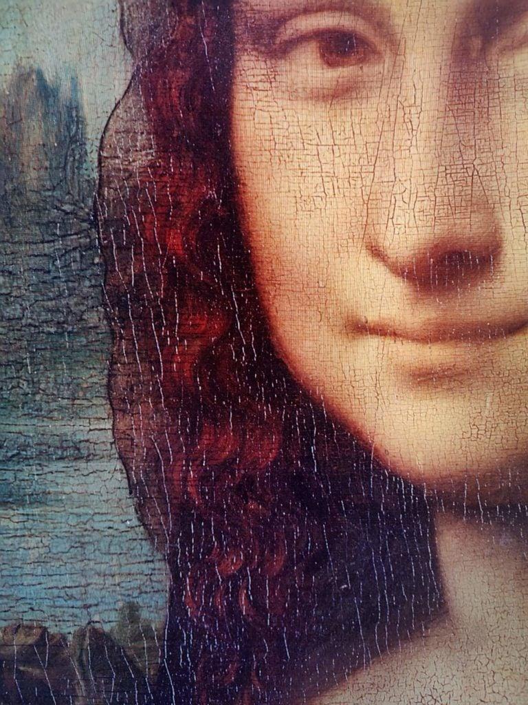 Zbliżenie Mona Lisa