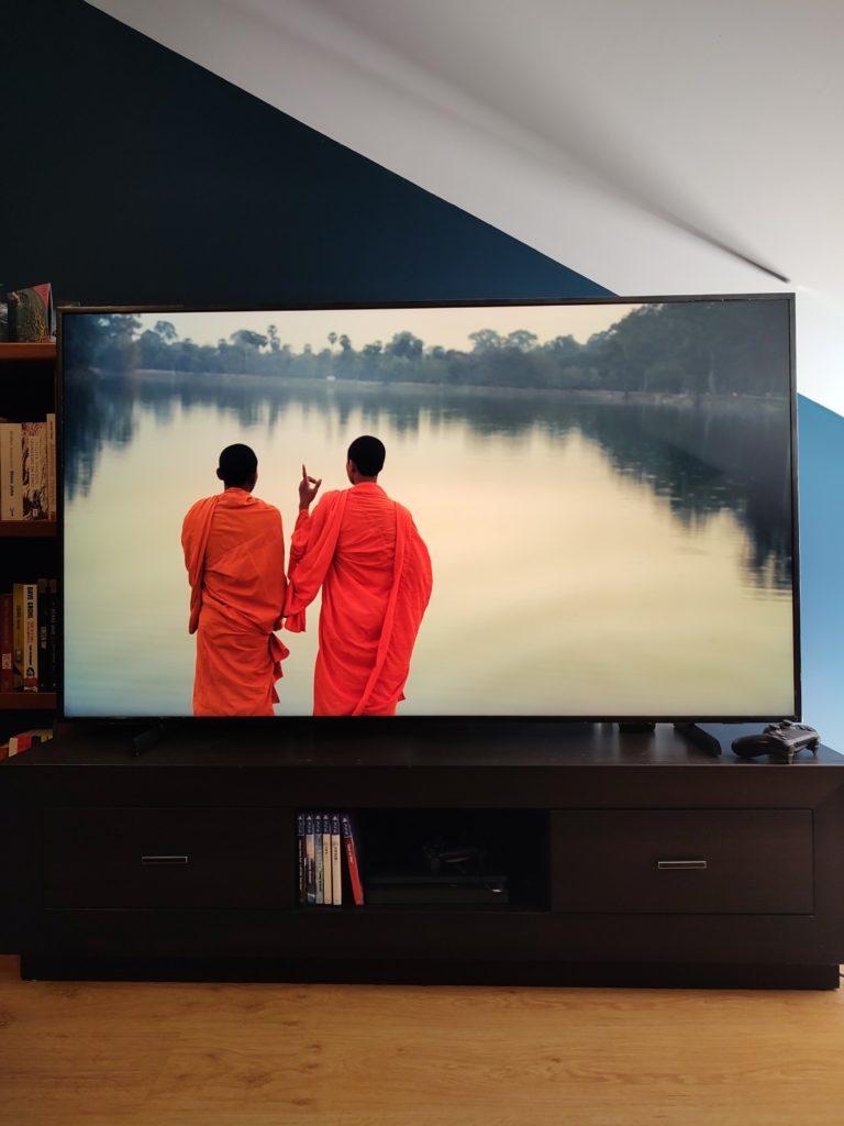 Samsung The Frame obraz Monks