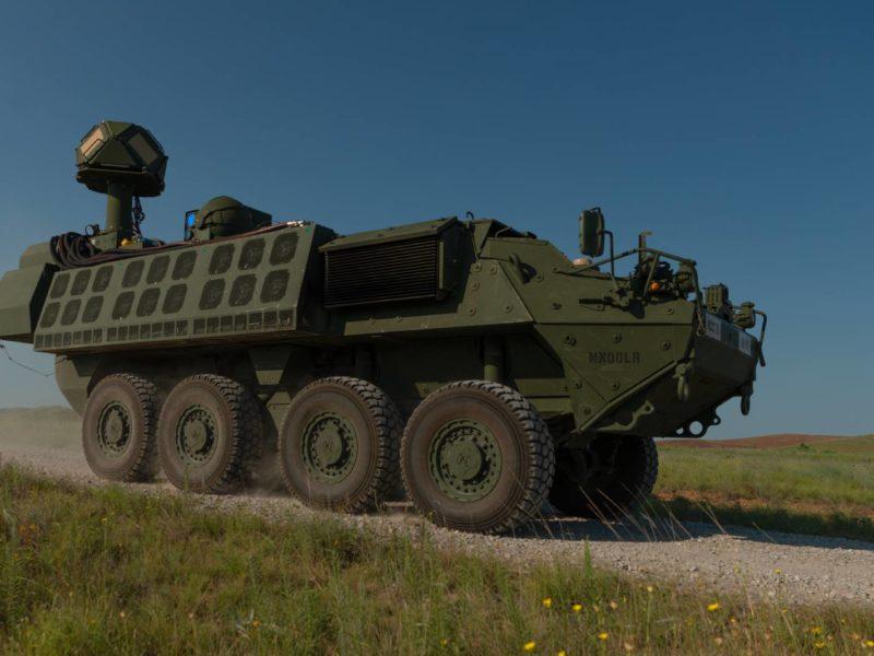 Stryker uzbrojony w laser. Testy U.S. Army