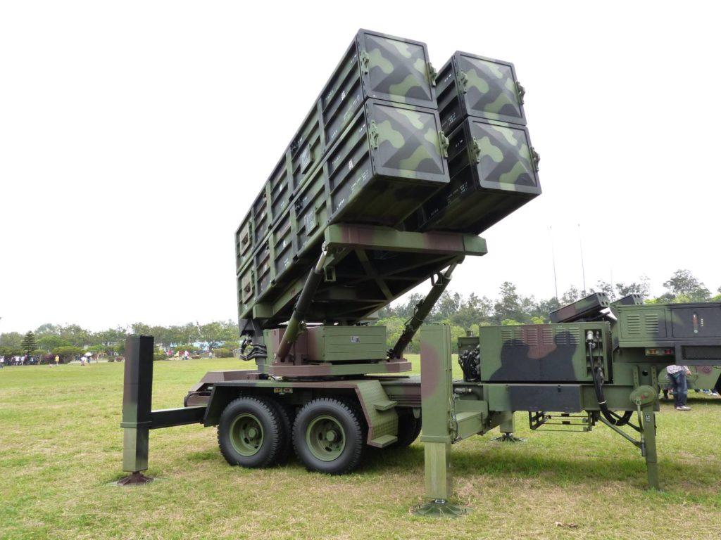 tajwańska wyrzutnia rakiet