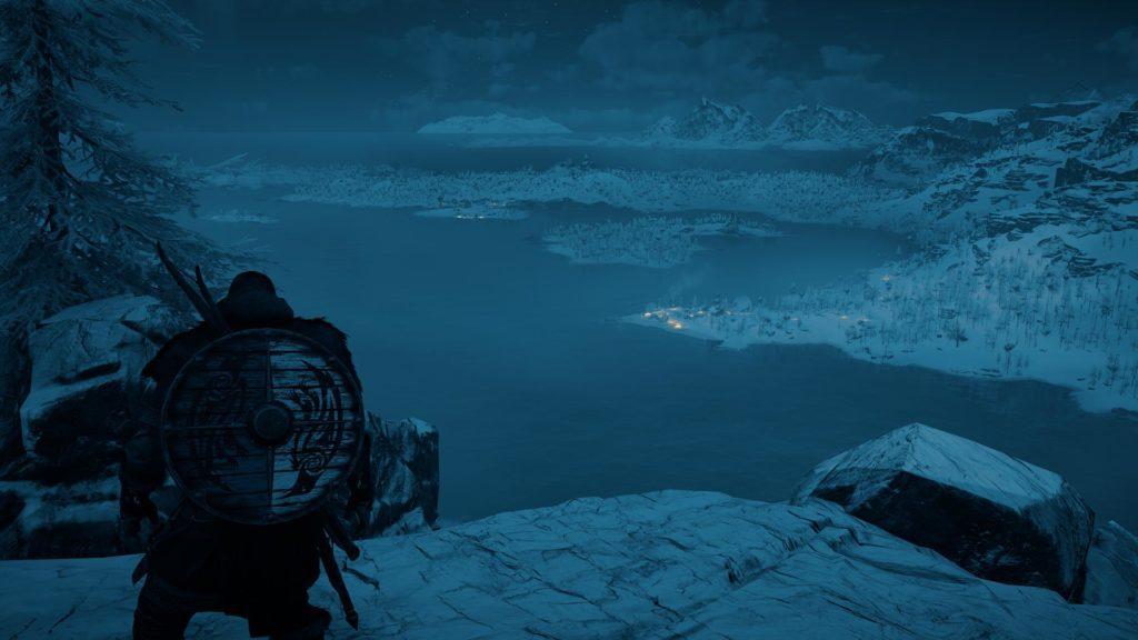 zrzut ekranu z trybu fotograficznego assassin's creed valhalla na xbox series x