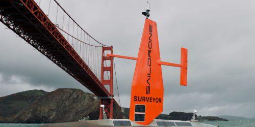 Żaglowe drony zapolują na okręty podwodne?