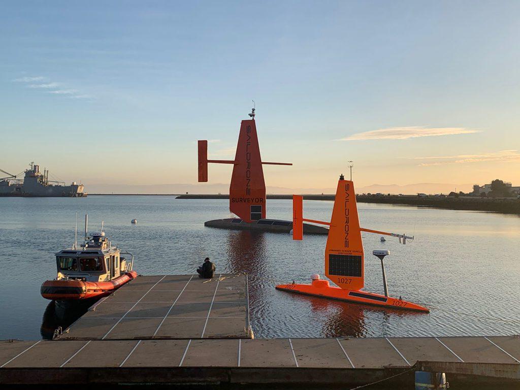 drony morskie port
