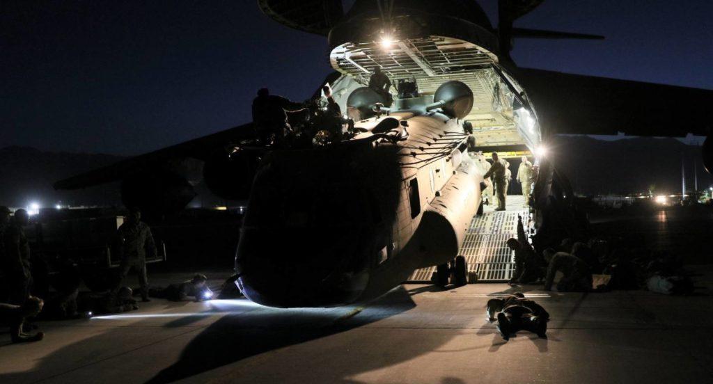 ewakuacja helikoptera