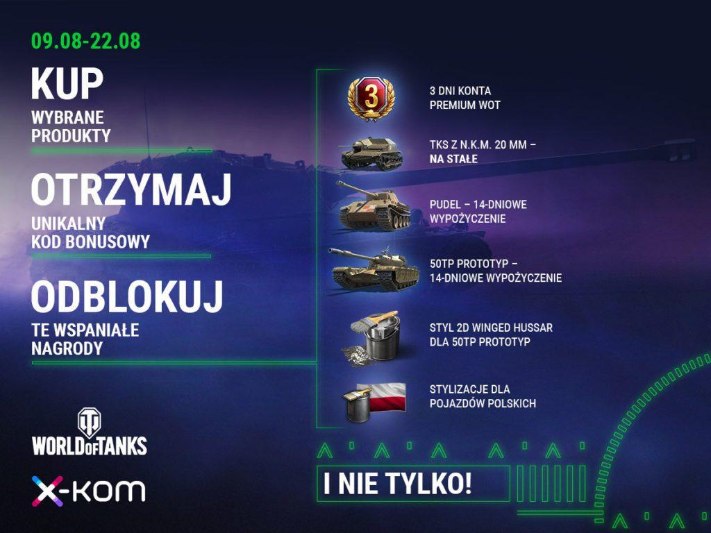 Festiwal Gamingu kod World of Tanks